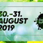 Sæt X i kalenderen Byfest 30. -31. aug 2019